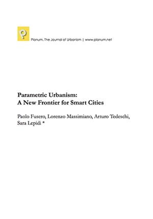 Paolo Fusero - Parametric Urbanism
