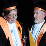 Ettore Spalletti e Paolo Fusero : laurea honoris causa in Architettura